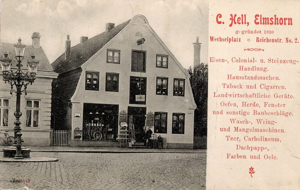 Claus Hell, Reichenstraße 2 / Wechselplatz, 1910